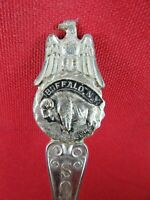 Lot 10 of 35 - Vintage Collector Spoons Buffalo & Eagle Souvenir New York
