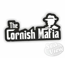 La mafia Cornouailles stickers St Piran Kernow drapeau voiture van decal Crest