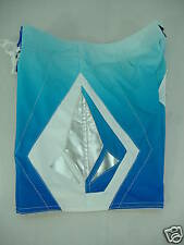New Junior Womens 5 VOLCOM Blue Silver Surf Swim Board Shorts