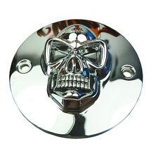 Zündungsdeckel Zündungscover Skull für Harley Davidson Sportster Big Twin