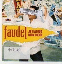 (BG941) Faudel, Je N'ai Que Mon Coeur - 2003 DJ CD