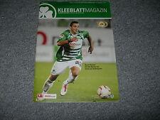 Programm 2010/11: SpVgg Greuther Fürth - FC Augsburg