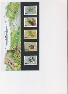 1985 ROYAL MAIL PRESENTATION PACK INSECTS MINT DECIMAL STAMPS
