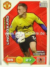Adrenalyn XL Manchester United 11/12 - #003 Anders Lindegaard - Goal Keeper