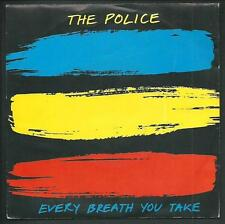 """The Police : every breath you take / Murder by numbers - vinile 45 giri / 7"""""""