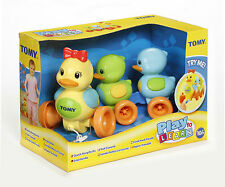 Tomy Quack Along Ducks Baby Activity Sounds Pull Along Toy Baby Games T4613