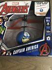 Marvel Avengers Flying UFO Ball Helicopter Captain America. New