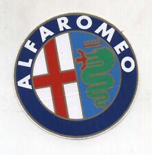 Adesivo ALFA ROMEO Auto PROMO pubblicità advertising sticker anni 80 F1 - 10 cm