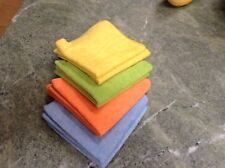 (8) Microfiber Cleaning Towels Cloths Rags Polishing Auto Detail