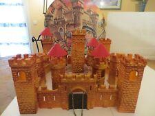 château fort moyen age pour figurines 4 cms n° 74 couleur orange
