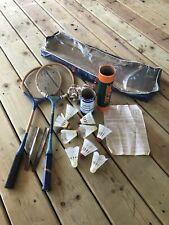 New listing Vintage Badminton Equipment Rackets, Shuttlecocks & More