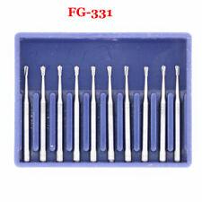 Dental Tungsten Steel Carbide Burs Fg Bur Drills Pear Shape Fg 330 Fg331