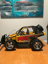 New Bright 1/15 Scale RC YLW Remote Control Baja Dirt Buggy Rat 500RT VGC 4402