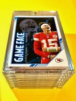 Patrick Mahomes GAME FACE PANINI SCORE INSERT CARD #GF-PM CHIEFS 2020 - Mint!
