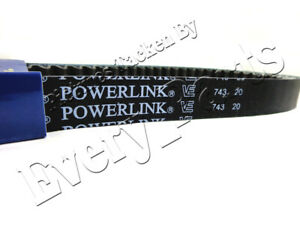 Gates Powerlink 743 20 30 CVT Drive Belt GY6 125cc 150cc Short Case Engine