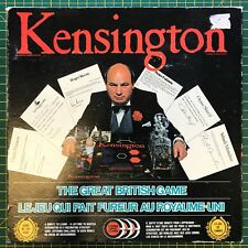 Kensington Board game - Rare English/French version - boxed - 1984 - Complete