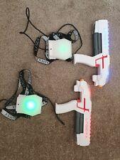 Laser X 2 Player Pack Gaming Guns Lazer Tag Toy 2 Guns and Receivers 14.99p