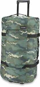 Dakine Split Roller EQ 100L Travel Bag Mens Sz 100L Olive Ashcroft Camo