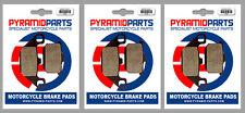 Kawasaki GPZ 900 R 84-89 Front & Rear Brake Pads Full Set (3 Pairs)