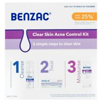 CHEAP Benzac Clear Skin Acne Control Kit