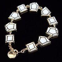 Marc Jacobs M0001098 Armreif Armband Farbe:Gold/Creme NEU!