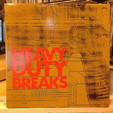 [EDM]~[VARIOUS ARTISTS]~NM LP~HEAVY DUTY BREAKS~[YOUTH~DATA~TARA BUTLER~SEX GANG