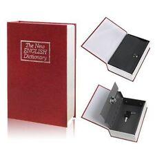 Gran Diccionario Secreto Libro Caja Fuerte De Seguridad Cerradura De Llave joyero de dinero en efectivo