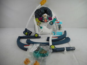 Fisher-Price GPT46 - Astro Kitty SpaceSaver Jumperoo, Infant Activity Center