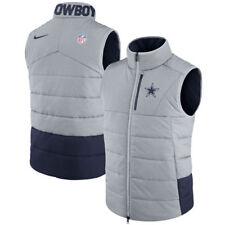Dallas Cowboys NFL Nike Sideline On-Field Vest - Gray