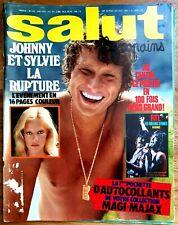 SALUT LES COPAINS N°166 (06/1976) JOHNNY HALLYDAY, SYLVIE VARTAN, ...  [TBE]