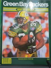 1995 GREEN BAY PACKERS FOOTBALL YEARBOOK