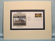 Tiger Stadium - home of the Detroit Tigers & First Day Cover of stamp
