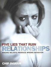 DVD - Five Lies That Ruin Relationships Video + Study Guide Chip Ingram NEW!