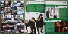 THE CURE Japan TOUR BOOK Fuji Rock 2007 Muse KINGS OF LEON Jarvis Cocker Iggy
