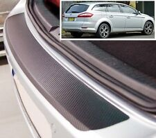 Ford Mondeo MK4 Estate - Carbon Style rear Bumper Protector