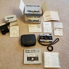 Rollei 35 SE - Sonnar 40mm f/2.8 35mm Camera & Rollei Beta 2 Flash Box Manuals