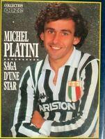 LIVRE COLLECTION ONZE MICHEL PLATINI SAGA D'UNE STAR FOOTBALL
