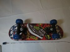 "Skate it out nation mini 17"" skateboard board wheels trucks NOS damaged check"