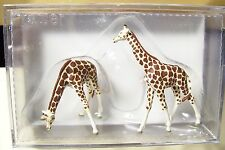 HO 1:87 Preiser 20385 GIRAFFE * CIRCUS * ZOO * (2) Giraffes Animal FIGURES