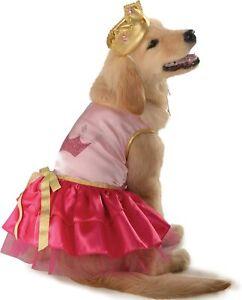 Princess Pup Medieval Renaissance Fancy Dress Up Halloween Pet Dog Cat Costume