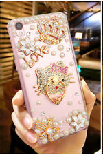 Sparkle Diamond Pearl Bling Hello Kitty Phone Case Cover iPhone X