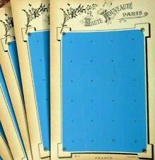 MERCERIE ANCIENNE, Lot 2 anciennes plaques HAUTE NOUVEAUTÉ pour boutons anciens