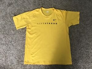 NWOT Nike Livestrong T Shirt Sz XLarge
