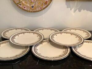 Vintage Lenox Lace Point Salad Plates Set of 8