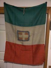 Ww1 Ww2 Itallian Flag Original Rare