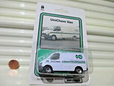 Matchbox 1986 MB60G UNICHEM RHD Ford Transit Van New in Excellent Bubble Package