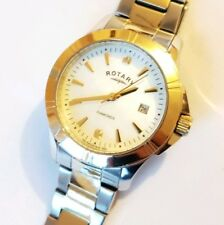 Rotary LB00134/07 Women's Diamond Two Tone Watch Dial Mother of Pear