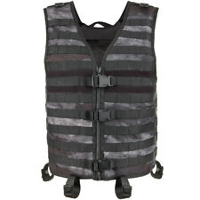 Mfh Light Tactical Molle Vest Hunting Paintball Airsoft Carrier Mens Hdt Camo Le