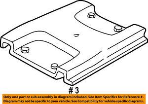 FORD OEM 03-07 E-350 Super Duty Seat Track-Striker 3C2Z1662440AB