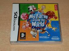 My Ferme Around The World Nintendo DS 3DS GB Jeu